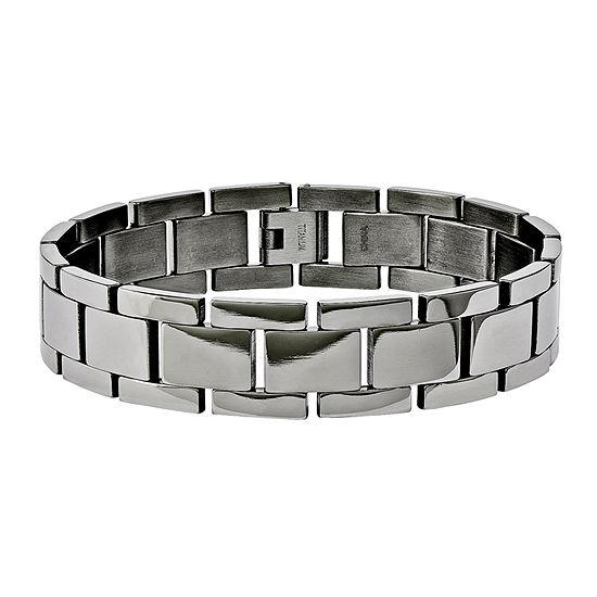 Mens Titanium Link Bracelet