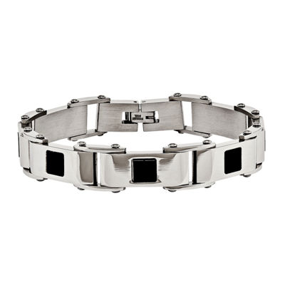 Stainless Steel 8.5 Inch Chain Bracelet