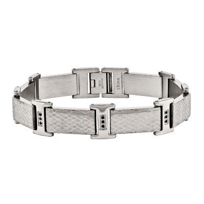 Stainless Steel 8.5 Inch Chain Bracelet