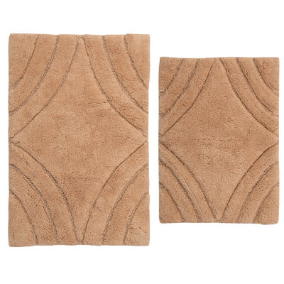 Castle Hill London Diamond 2-pc. Bath Rug Set