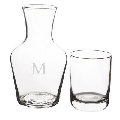 Cathy's Concepts Personalized 16.75-oz. Bedside Water Carafe Set