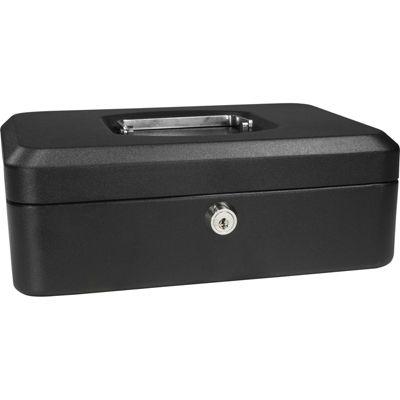 "Barska 8"" Cash Box with Key Lock"
