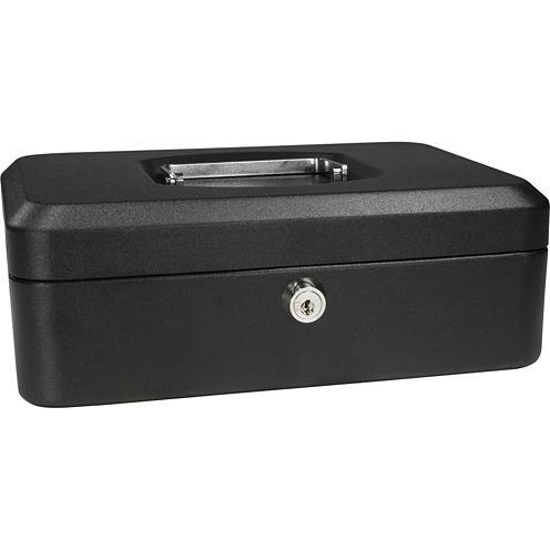 "Barska® 8"" Cash Box with Key Lock"