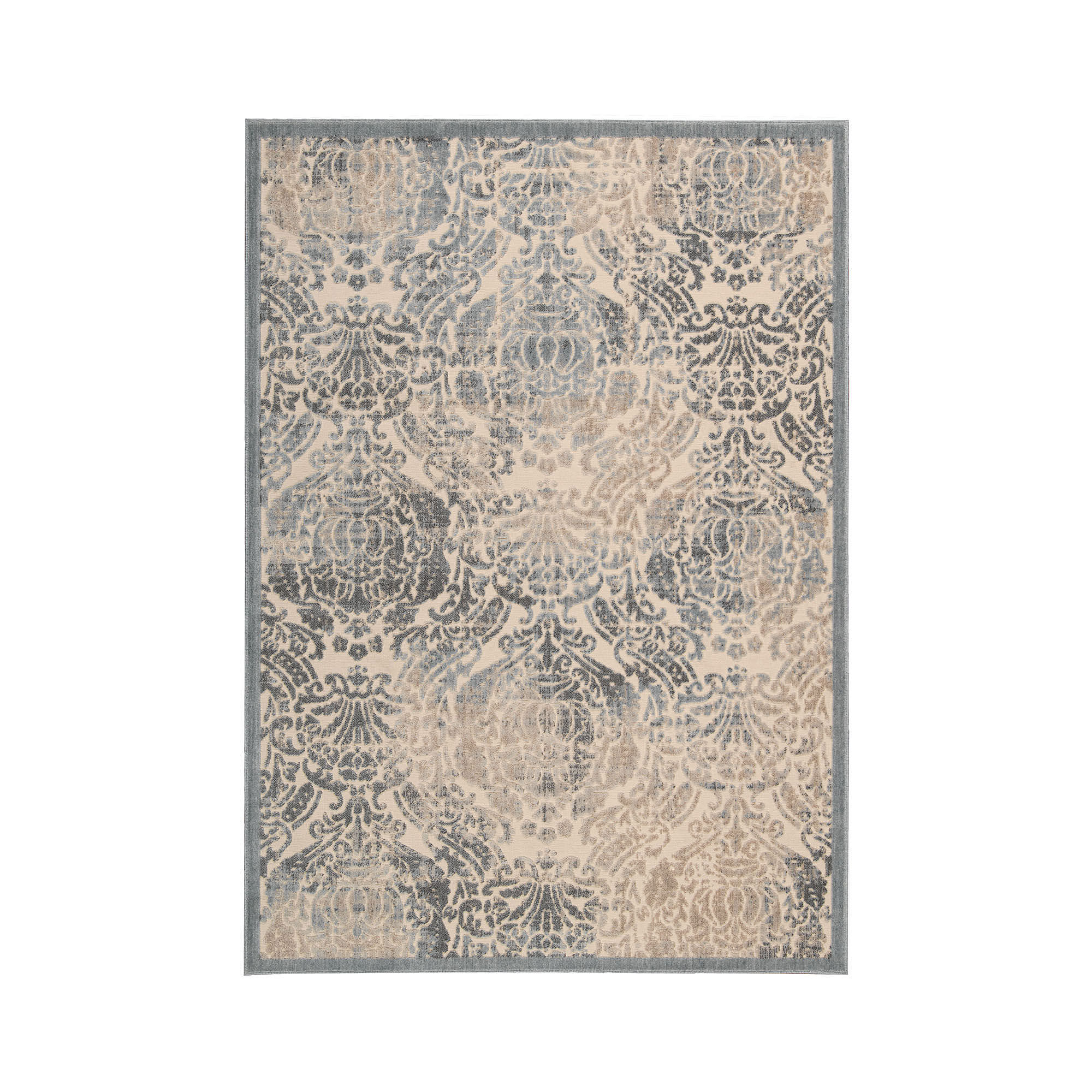 Nourison Ancient Ruins High-Low Carved Rectangular Rug