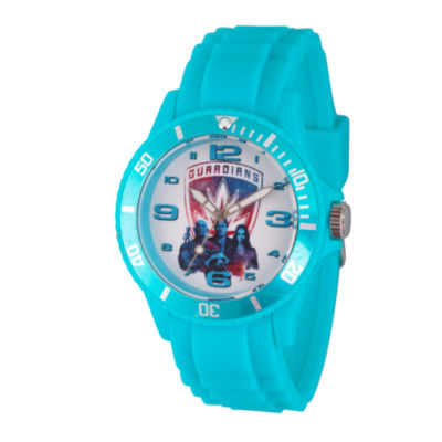 Guardian Of The Galaxy Marvel Mens Blue Strap Watch-Wma000102