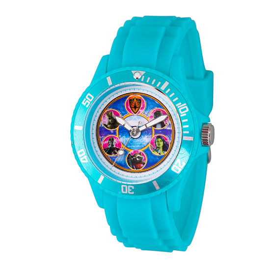 Marvel Guardian Of The Galaxy Marvel Mens Blue Strap Watch-Wma000111