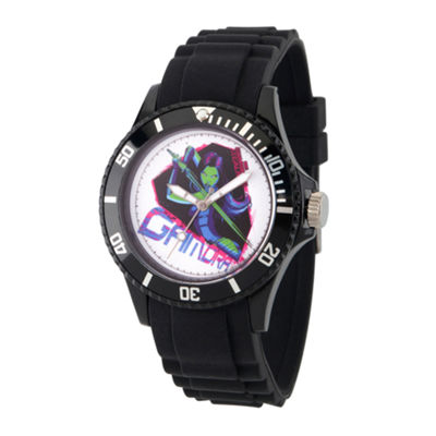 Guardian Of The Galaxy Marvel Mens Black Strap Watch-Wma000112