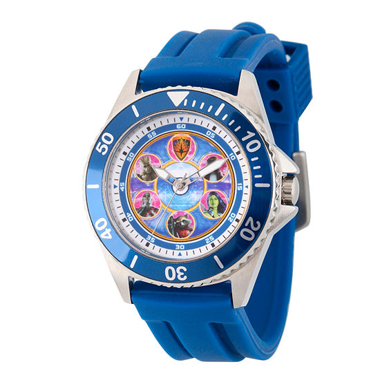 Marvel Guardian Of The Galaxy Marvel Mens Blue Strap Watch-Wma000120