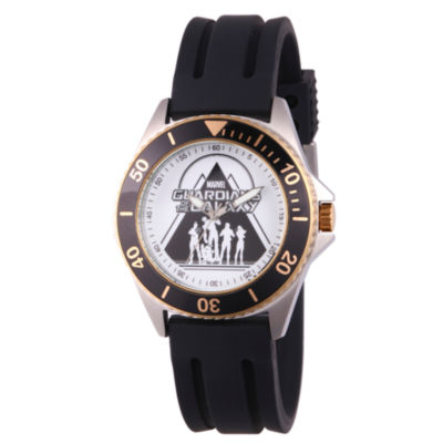 Guardian Of The Galaxy Marvel Mens Black Strap Watch-Wma000122