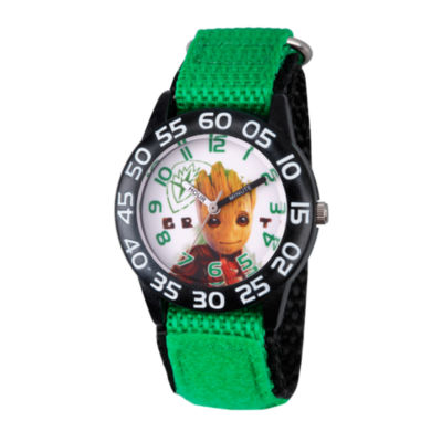 Guardian Of The Galaxy Marvel Boys Green Strap Watch-Wma000129
