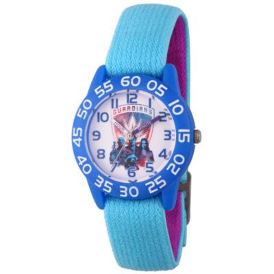 Guardian Of The Galaxy Marvel Boys Blue Strap Watch-Wma000130