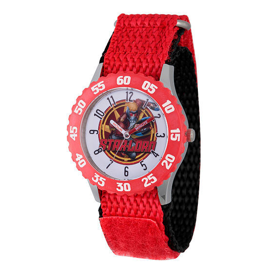 Marvel Guardian Of The Galaxy Marvel Boys Red Strap Watch-Wma000136