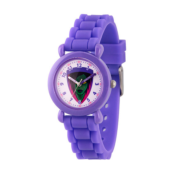 Guardians of the Galaxy Girls Purple Strap Watch-Wma000143