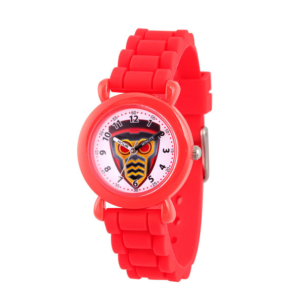 Guardian Of The Galaxy Marvel Boys Red Strap Watch-Wma000144