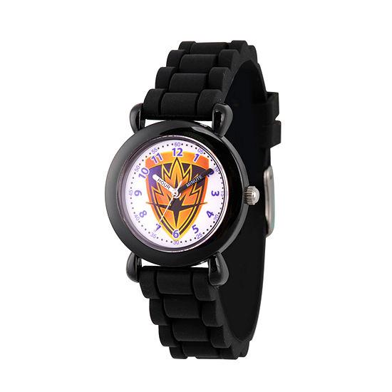Marvel Guardian Of The Galaxy Marvel Boys Black Strap Watch-Wma000145