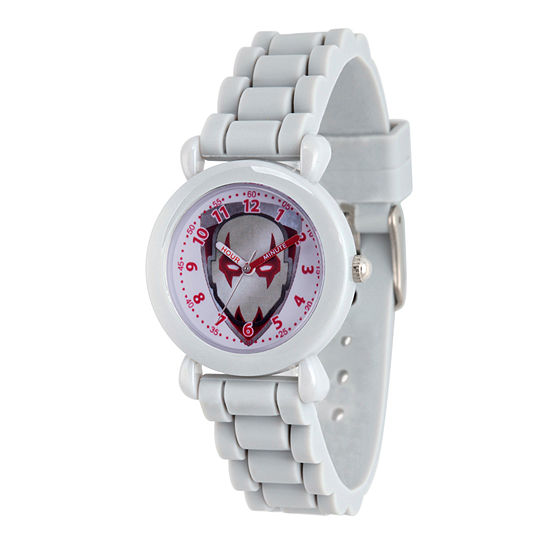 Guardian Of The Galaxy Marvel Boys Gray Strap Watch-Wma000147