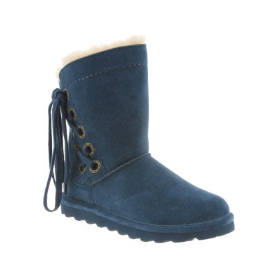 Bearpaw Morgan Womens Lace Up Water Resistant Winter Boots