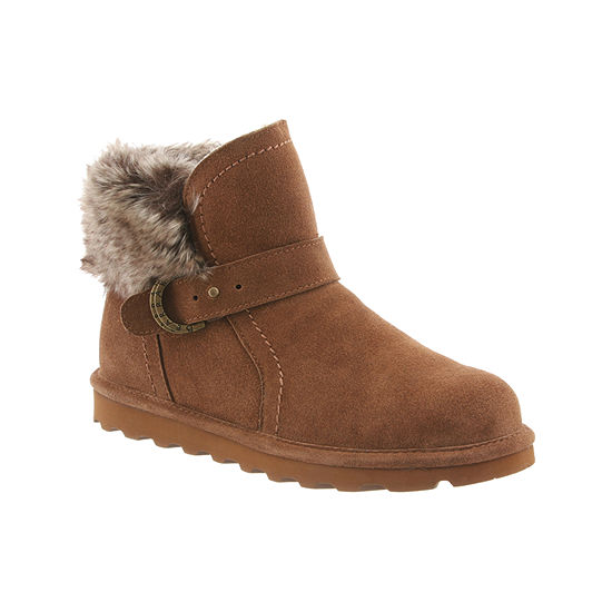 Bearpaw Womens Koko Water Resistant Winter Boots Flat Heel