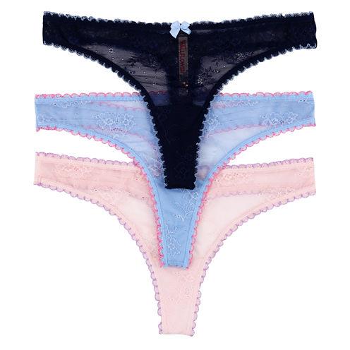 Wallflower 3-pc. Thong Panty