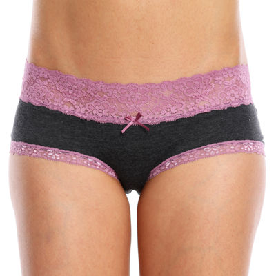 Wallflower 2-pc. Knit Hipster Panty L74043wfa