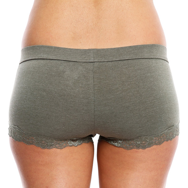 Wallflower 2-pc. Knit Boyshort Panty