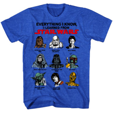 Short Sleeve Star Wars Tv + Movies Education Graphic T-Shirt