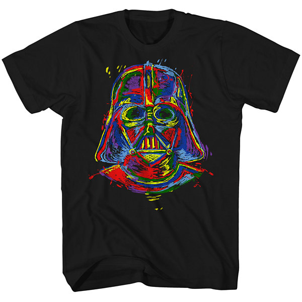 Short Sleeve Star Wars Tv + Movies Vanquet Head Graphic T-Shirt
