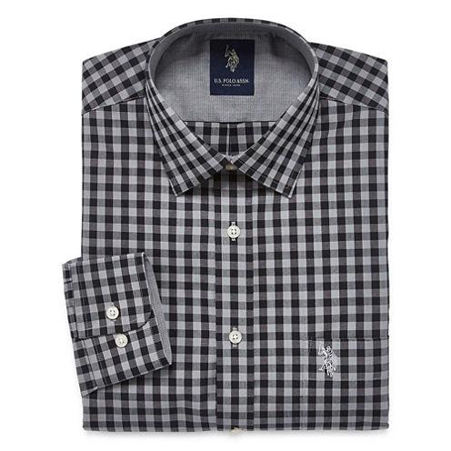 U.S. Polo Assn. Slim Fit Easy-Care Long Sleeve Dress Shirt