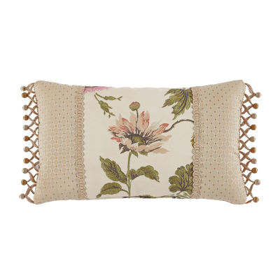 Croscill Classics Daphne Rectangular Throw Pillow