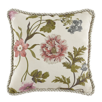 Croscill Classics Daphne Square Throw Pillow