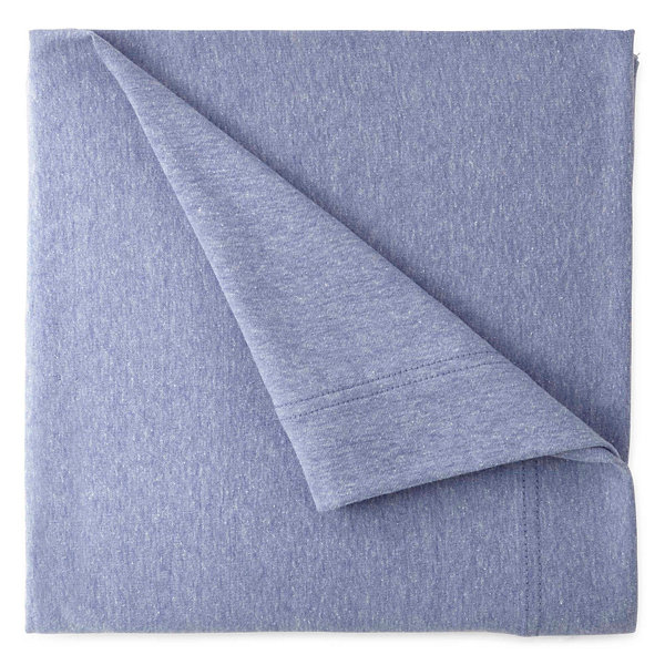 Home Expressions Jersey Knit Easy Care Set of 2 Pillowcases