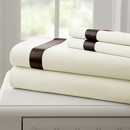 Pacific Coast Textiles 400 Thread Count 4 pc sheetset