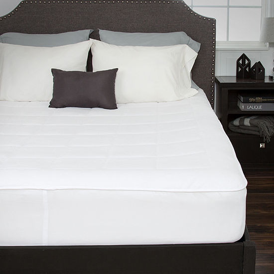 Cambridge Home Down Alternative Mattress Pad With  Fitted Skirt