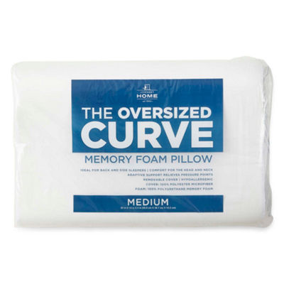 JCPenney Home™ The Oversize Curve Contour Memory Foam Pillow