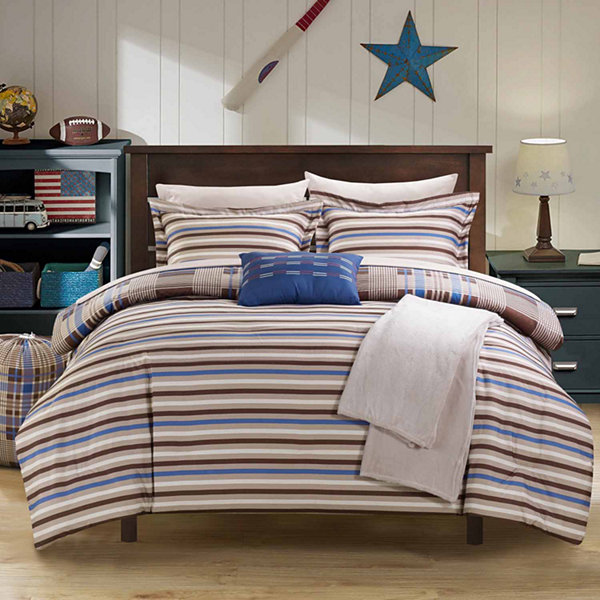 Chic Home Manchester Midweight Reversible Comforter Set