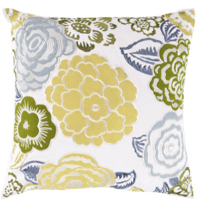 Decor 140 Dianthus Square Throw Pillow