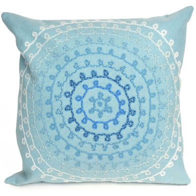 Liora Manne Visions Ii Ombre Threads Square Outdoor Pillow