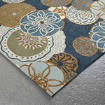 Liora Manne Ravella Disco Hand Tufted Rectangular Indoor/Outdoor Rugs