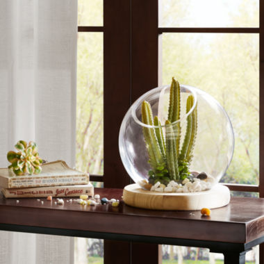 Madison Park Amory Bubble Terrarium Planter