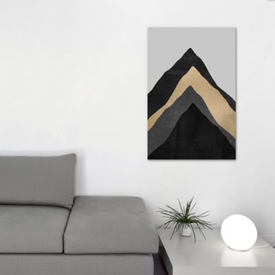 Icanvas Four Mountains Canvas Art
