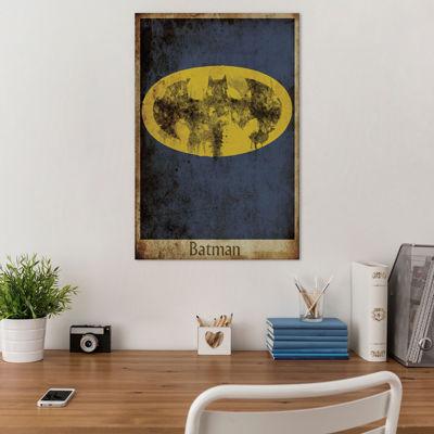 Icanvas Batman Logo Canvas Art