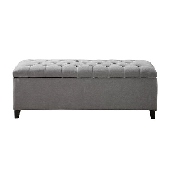 Madison Park Sasha Tufted Top Storage Bench