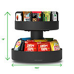 Mind Reader 'Supreme' Lazy Suzan 2-Tiered Breakroom Snack Organizer