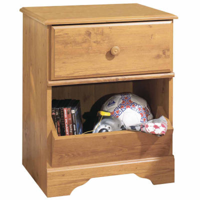 Little Treasures 1-Drawer Nightstand