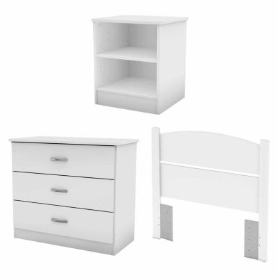 South Shore Libra Twin 3-Piece Bedroom In A Box