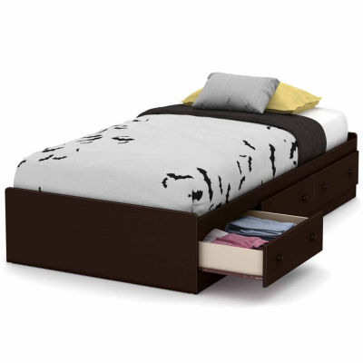 South Shore Little Smileys 3-Drawer Twin Mates Bed