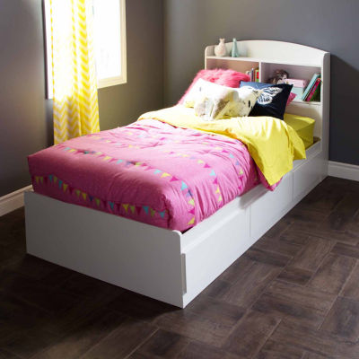 South Shore Logik 3-Drawer Twin Mates Bed