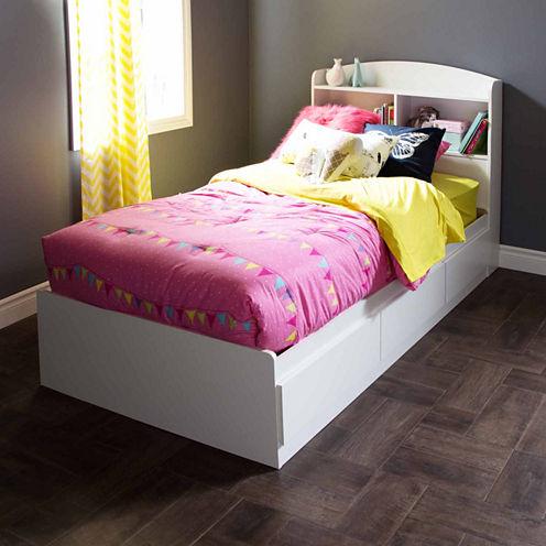 South Shore Logik 3-Drawer Twin Mates Bed