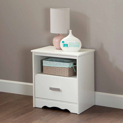 Tiara 1-Drawer Nightstand
