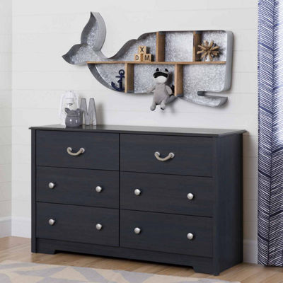 Aviron 6-Drawer Dresser